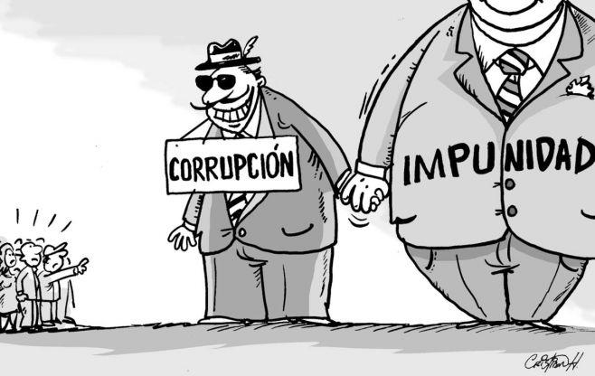 Dejadez egoismo corrupcion impunidad